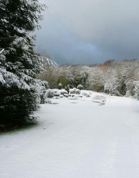 Bretagne sous la neige